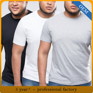 주문 남자는 t-셔츠 플러스 너무 크은 면 짧은 소매를 한탄한다