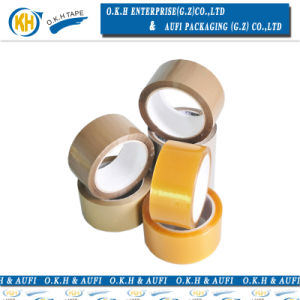 強い付着を用いる軽いタンカラー包装テープ