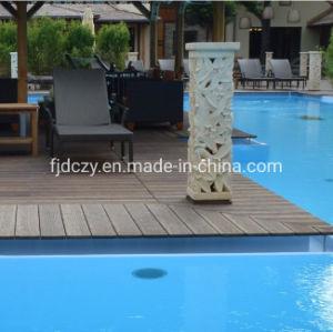 Duro impermeable al aire libre sólido estable Strand tejido Bamboo Pisos de ingeniería
