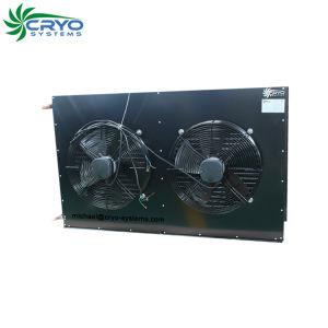 R22 Caminhada do condensador no condensador do radiador de refrigeração da caixa do evaporador para a sala de armazenagem a frio
