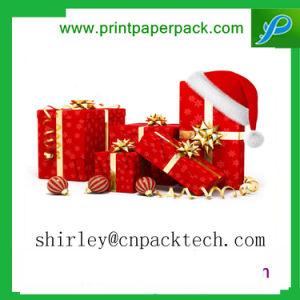 متفوّق صنع وفقا لطلب الزّبون عيد ميلاد المسيح مهرجان هبة ورقة معروفة صندوق