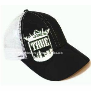 OEMはデザインによって刺繍された黒い綿の屋外スポーツの野球帽をカスタマイズした