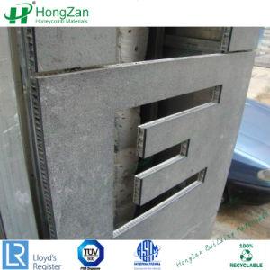 正面の建築材料のための石造りの大理石アルミニウム蜜蜂の巣のパネル