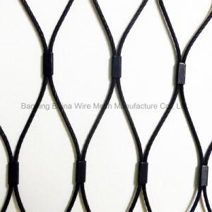 Câble en acier inoxydable oxyde noir de la corde de Wire Mesh