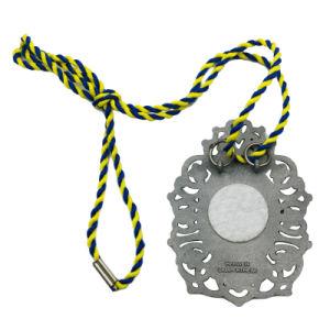 BSCI verweisen Fabrik-Gussteil-Schule-Meisterschaft-Antike-Bronzemedaille mit Stutzen-Farbband (009)