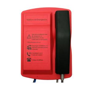 Knsp-18t IP66 rendono il telefono resistente all'intemperie Emergency del punto esterno di guida