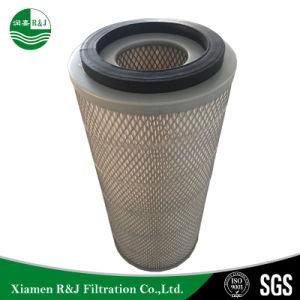 Industrieller ovaler Luftfilter Nanofibre Filtereinsatz