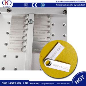 станок для лазерной маркировки волокон для печати логотипа на диске USB Craft подарки металлические пластмассовые шаблона метки с компьютера