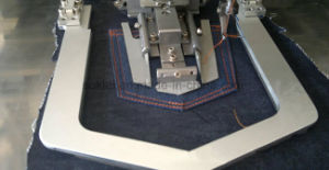 Jeans automática blusa T-shirt Patch de bolso máquina de costura de anexos