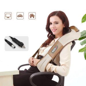 Relax eléctrico Hombro cuello masajeador SHIATSU para amasar en 3D de infrarrojos