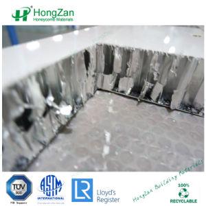 Lamiera galvanizzato lastra di vetro di alluminio del favo per il divisorio