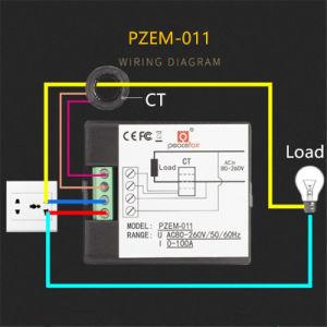 Жк-дисплей на 360 градусов 0-100ПЕРЕМЕННОГО ТОКА В напряжение питания ток цифровой одна фаза дозатора с электронным управлением