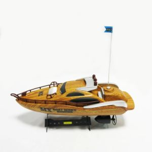 Modelo Inalámbrico Juguete 4ch Rc – Racing De Barco Hot Madera zpVGLSUqM