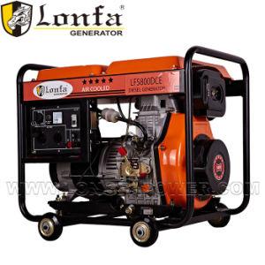 5kw Lfd186 generador diésel de tipo abierto con la India Price