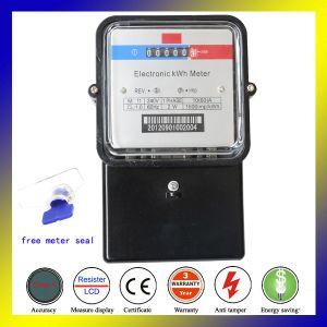 240 В регистр электронный счетчик электроэнергии со стеклянной крышкой