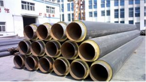 열 Anti-Corrosion 층 입히는 증기 절연제 강관
