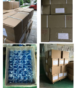 La Plaza de alta gama de botellas de plástico de Airless tarro de crema cosmética Embalaje (BB-1-15)