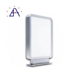 Bulk 6063の等級プロフィールのによる販売はアルミニウム広告するか、またはポスターフレーム突き出た