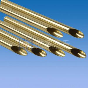 Aluminium-und Kupfer-Flosse-Gefäß für Wärmetauscher-Akkordeon-Rohr-gewölbtes Gefäß