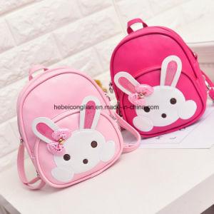 De winkelende Zakken van de Rugzak van de Ontwerper van de Kinderen/van het Meisje van het Konijn MiniPu van de Website Roze