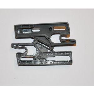 Dobradiça de plástico para gavetas de ferramentas