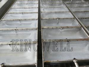 Bloco do contêiner móvel conveniente industrial/Flake máquina de gelo
