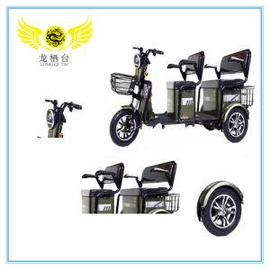 500W Lazer triciclo elétrico dobrável para passageiros e carga