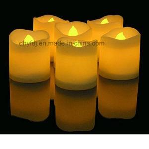 Velas LED a piscar a Luz de chá com impressão de logotipo, todos os tamanhos disponíveis