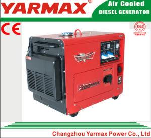 セリウムISO9001とのYarmax 7kw 7.5kw極度の無声ディーゼルGenset