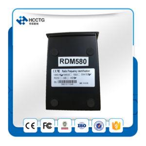 이중 주파수 Lf Hf 125kHz/13.56MHz 탁상용 RFID 독자 (RDM580)
