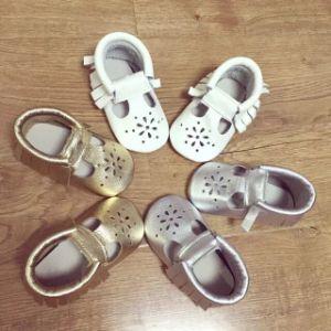 Commerce de gros de chaussures en cuir véritable sandales Bébé Nourrisson