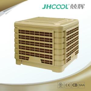 Novo 18000CMH o fluxo de tecto de vidro na parede do resfriador do ar por evaporação Varying-Voltage industrial para a fábrica