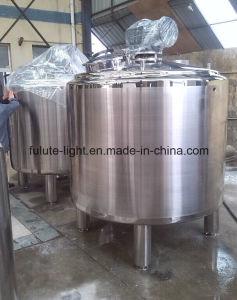 Het Verwarmen van de Stoom van het Roestvrij staal van de Rang van het voedsel Drank die Tank mengen