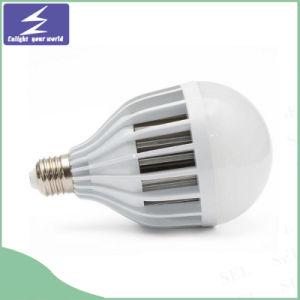 Leistungs-Schrauben-Rahmen, der energiesparende Birnen-Lampe beleuchtet