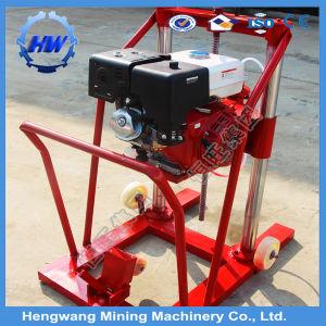 Perforación de pavimento de hormigón de la máquina de perforación horizontal máquina de perforación del pozo