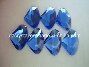 De anisotrope Parels van de Juwelen van het Glas Vlakke Achter