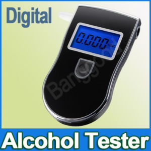 DIGITAL LCD表示との携帯用Breath Alcohol Tester Breathalyzer Analyzer