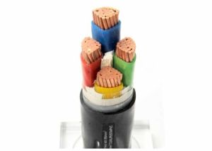 Câble blindé 4 conducteurs électriques 0,6 /1kv Double bande en acier