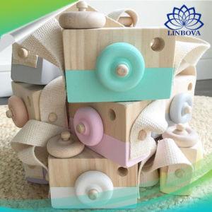 Bonitinha Travando Câmara Madeira bebê brinquedos brinquedos de madeira presentes de Aniversário brinquedos para crianças