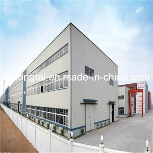 Gran estructura de acero de construcción de plantas de energía