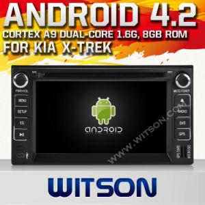 Witson Android 4.2 System Car DVD per KIA X-Trek (W2-A7517)
