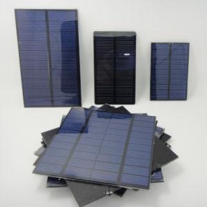 0.1W-3.5de resina epoxi con panel solar de Pet utilizado en la bolsa de solares y cargador de móvil