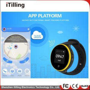 Telefoon van het Horloge van de verdeler de Slimme Digitale met de Levensstijl van /Healthy van het Tarief van het Hart Bluetooth//de Waterdichte Drijver van /GPS/Kaart Camera/SIM voor Baby