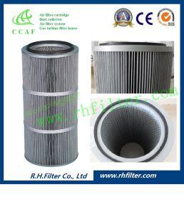 Filtro dell'aria del poliestere di Ccaf per l'accumulazione di polvere