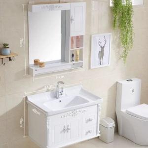 Het drijven de Ijdelheid van de Badkamers met het Kabinet van de Spiegel