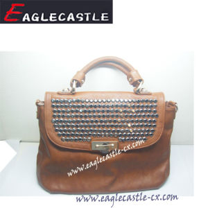 Fashion PU Sac, Sac à main, sac bandoulière sac de rivet, sac fourre-tout, Lady SAC, SAC SAC DE VERROUILLAGE, Parti sacoche pour ordinateur (CX11937)