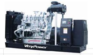 Groupes électrogènes Diesel de série VPM (50Hz)
