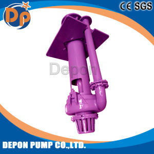 Haute efficacité haute pression de carter de pompe à lisier Submerisble verticale pour le secteur minier