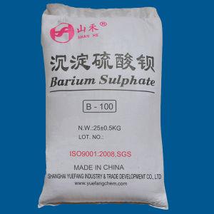 페인트를 위한 Baso4에 의하여 침전되는 바륨 황산염 (B-100)