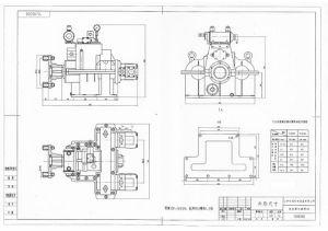 Haisun hydraulische Kupplungs-Pumpen-Marinestation